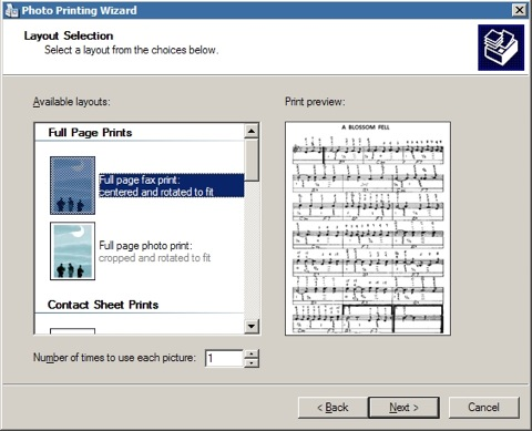 Windows Picture and Fax Viewer