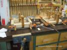 Drilling the endcap for machine screws.